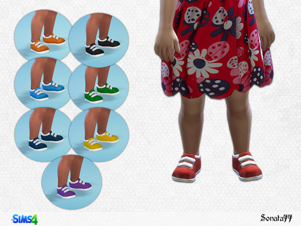 Sims 4 S77 toddler 15 shoes by Sonata77 at TSR