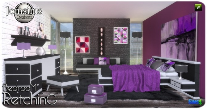Retching bedroom at Jomsims Creations image 8510 670x355 Sims 4 Updates