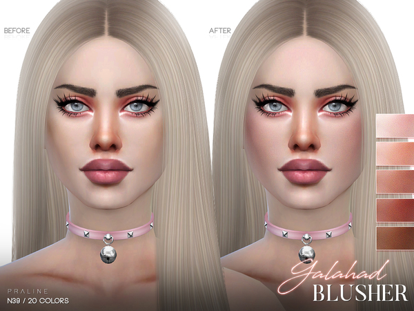 Galahad Blusher N39 by Pralinesims at TSR image 86 Sims 4 Updates