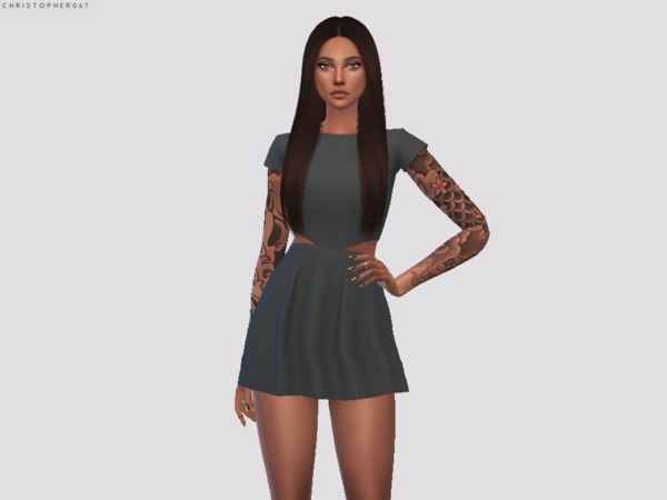 Scomiche Dress by Christopher067 at TSR image 872 Sims 4 Updates