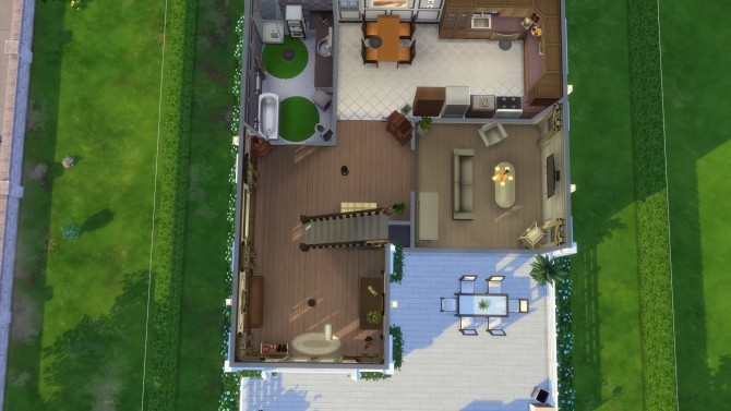 Sims 4 Base Game House by Nuttchi at Mod The Sims