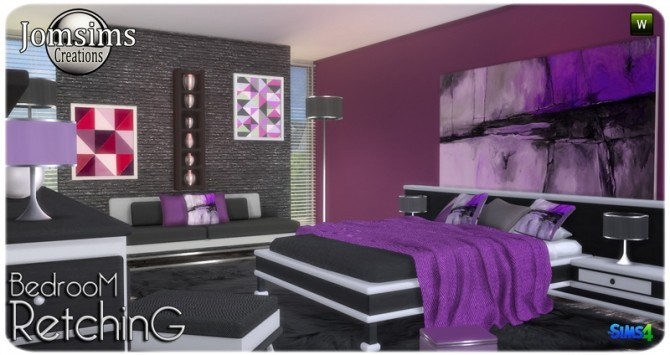 Retching bedroom at Jomsims Creations image 8791 670x355 Sims 4 Updates