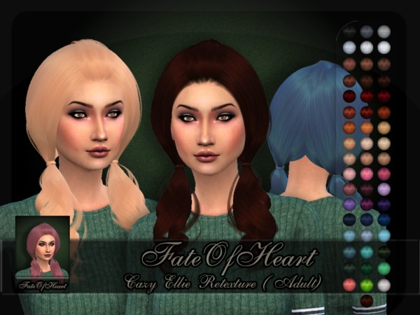 Cazy Ellie Retexture by FateOfHeart at TSR image 8915 Sims 4 Updates
