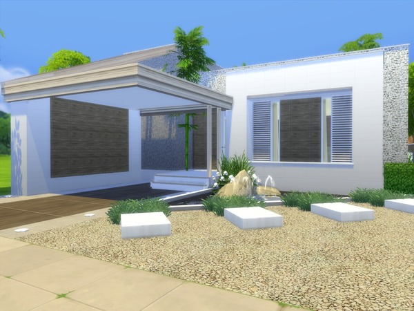 Linnea house by Suzz86 at TSR image 902 Sims 4 Updates