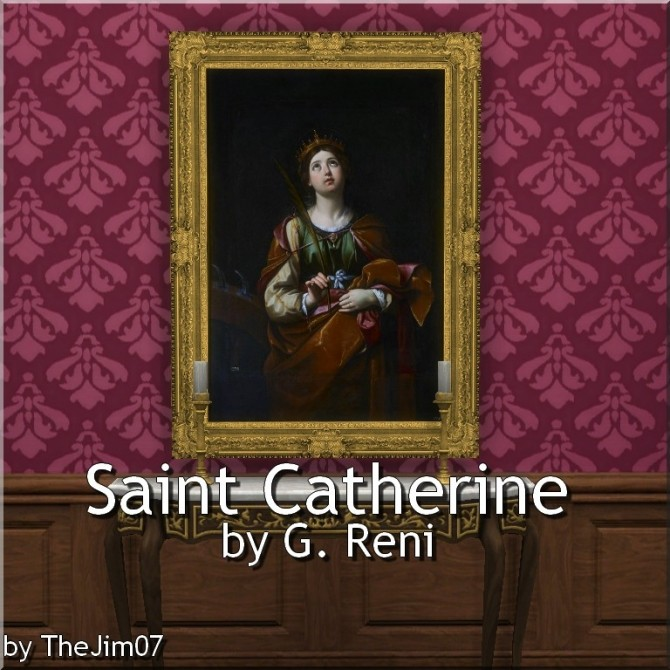 Sims 4 Saint Catherine by G. Reni by TheJim07 at Mod The Sims