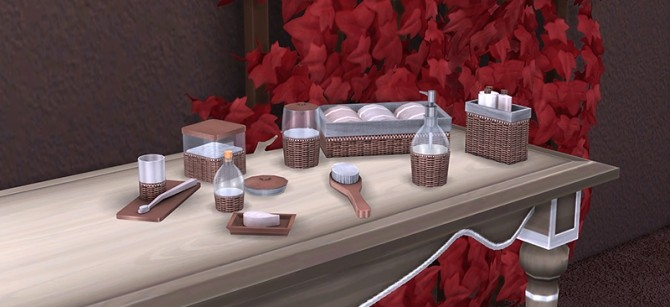 Sims 4 Valentine clutter at Soloriya