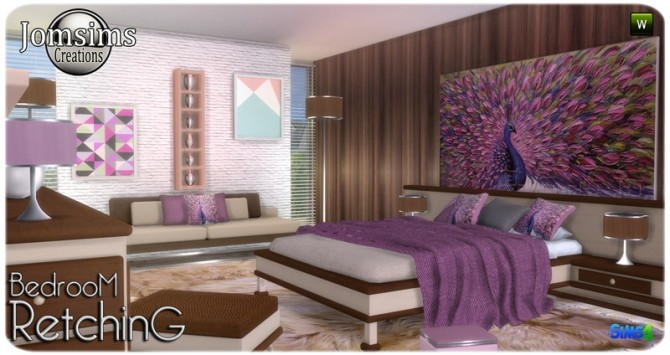 Retching bedroom at Jomsims Creations image 9115 670x355 Sims 4 Updates