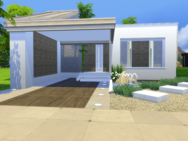 Linnea house by Suzz86 at TSR image 913 Sims 4 Updates
