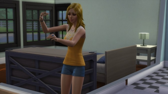 Sims 4 Music Lover Idle Animation in Live Mode (Occasional) by CardTaken at Mod The Sims
