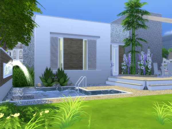 Linnea house by Suzz86 at TSR image 922 Sims 4 Updates