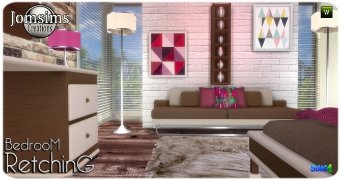 Retching bedroom at Jomsims Creations image 9311 670x355 Sims 4 Updates