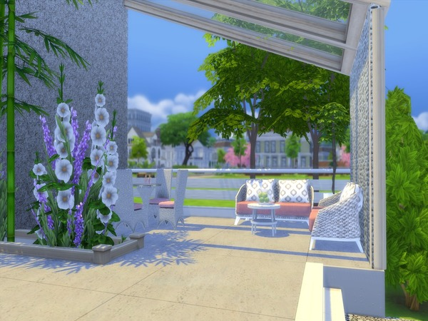 Linnea house by Suzz86 at TSR image 932 Sims 4 Updates