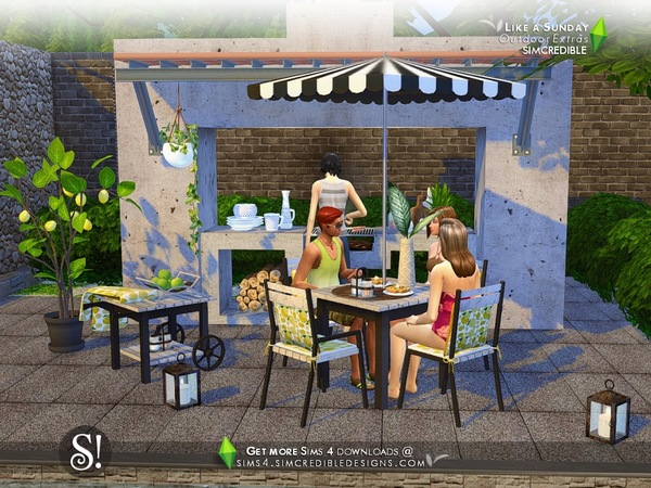 Like a Sunday decor by SIMcredible at TSR image 94 Sims 4 Updates
