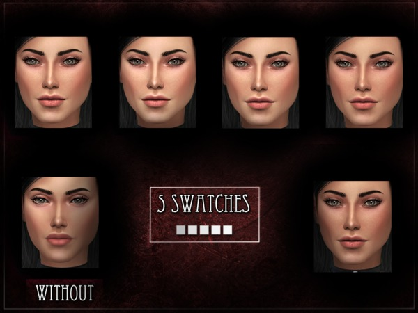 Sims 4 R skin 10 FEMALE OVERLAY by RemusSirion at TSR