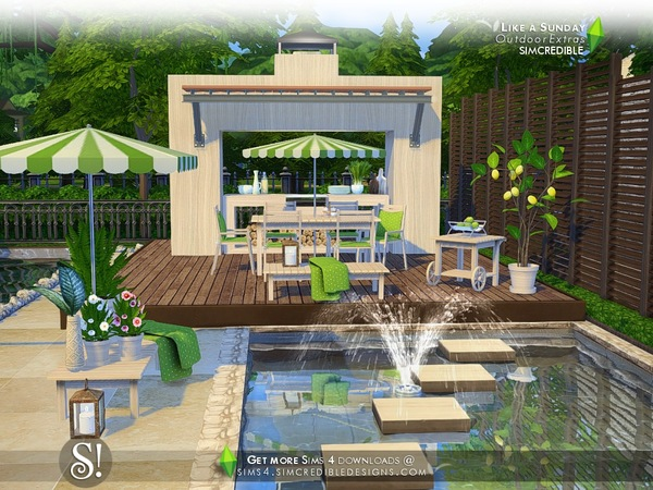 Like a Sunday decor by SIMcredible at TSR image 96 Sims 4 Updates