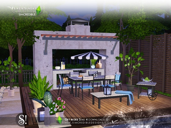 Like a Sunday decor by SIMcredible at TSR image 97 Sims 4 Updates