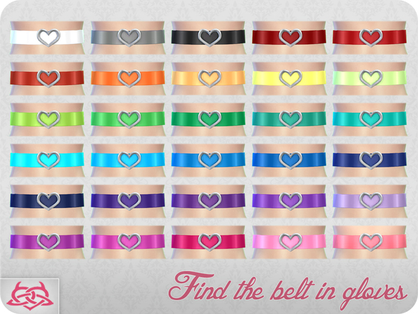 Belt 3 by Colores Urbanos at TSR image 9714 Sims 4 Updates