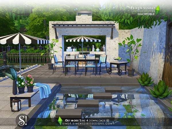Like a Sunday decor by SIMcredible at TSR image 98 Sims 4 Updates