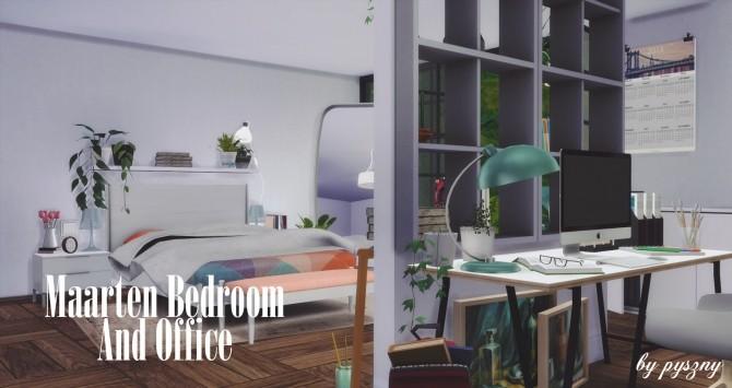 Maarten Bedroom & Office at Pyszny Design image 9812 670x355 Sims 4 Updates