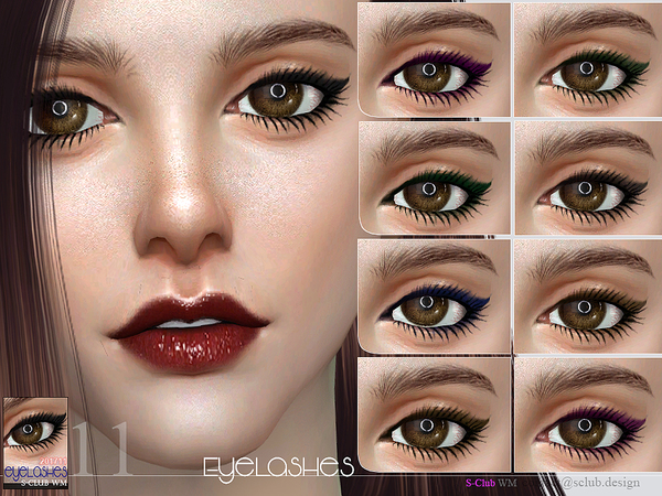 Eyelashes 201711 by S Club WM at TSR image 9813 Sims 4 Updates