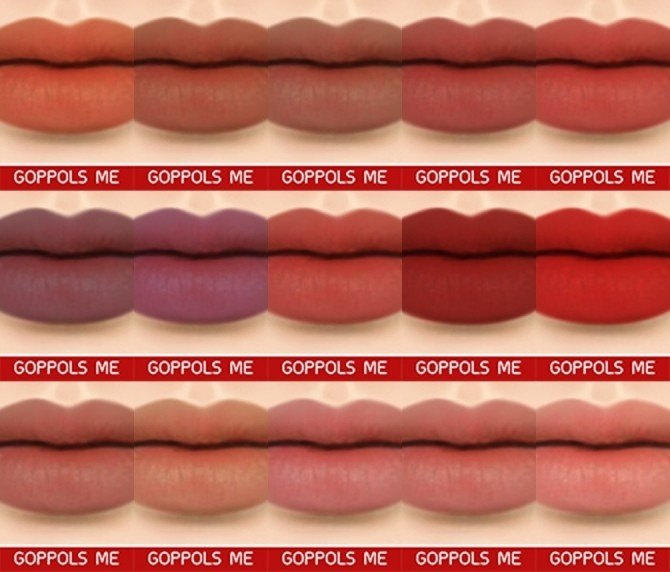 C Matte lipstick at GOPPOLS Me image 983 670x572 Sims 4 Updates