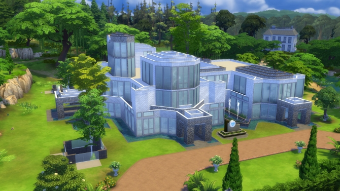 General Hospital Build By Arcadialight At Mod The Sims
