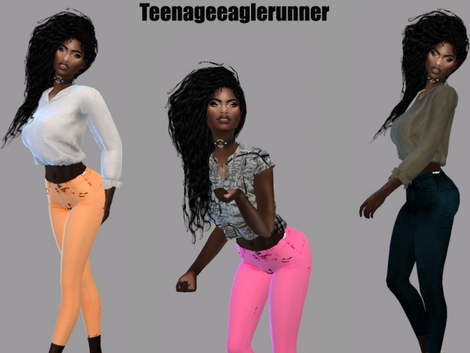 RICKY SKINNY JEANS at Teenageeaglerunner image 1007 670x503 Sims 4 Updates