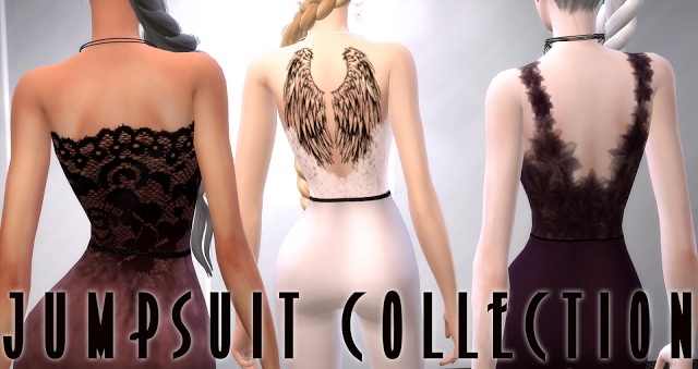 3 Jumpsuits at BlueRose Sims image 1011 Sims 4 Updates