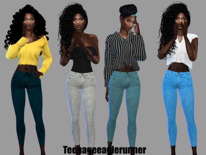 RICKY SKINNY JEANS at Teenageeaglerunner image 10110 670x503 Sims 4 Updates