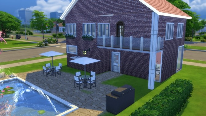 Little Brick House by Malwa1216 at Mod The Sims image 10111 670x377 Sims 4 Updates