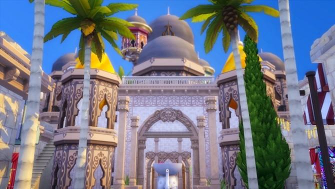 Arabian Village And Palace At Akai Sims 187 Sims 4 Updates