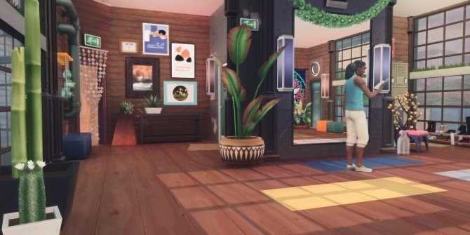 THE OLD SALT HOUSE GYM at Picture Amoebae image 1024 670x335 Sims 4 Updates