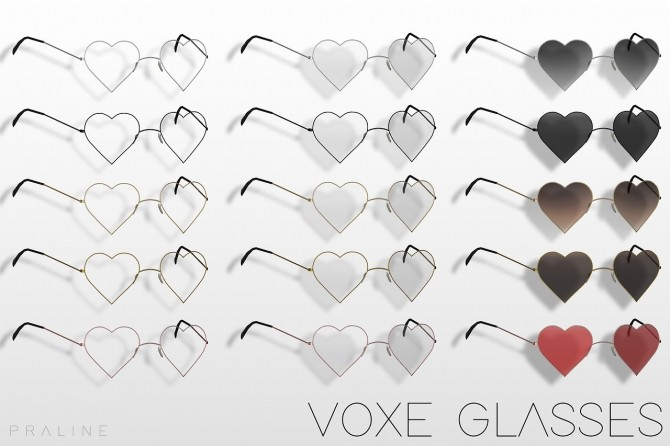 Voxe glasses at Praline Sims image 1025 670x446 Sims 4 Updates