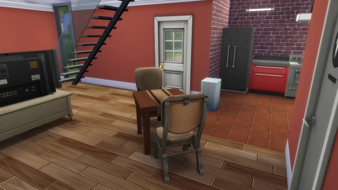 Sims 4 Little Brick House by Malwa1216 at Mod The Sims