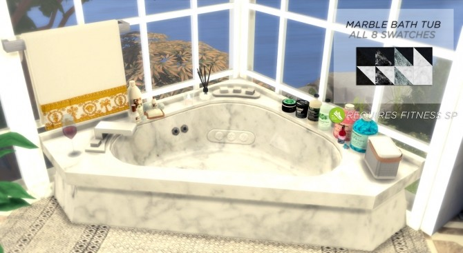 Fitness Bath Set At Asteria Sims 187 Sims 4 Updates