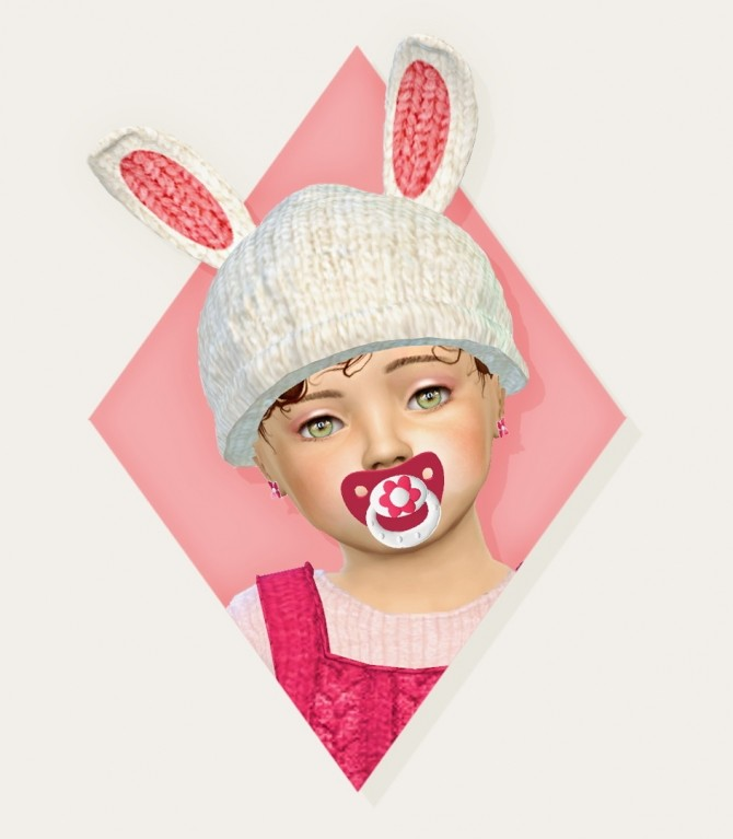 My little bunny hat at Simiracle image 10414 670x767 Sims 4 Updates