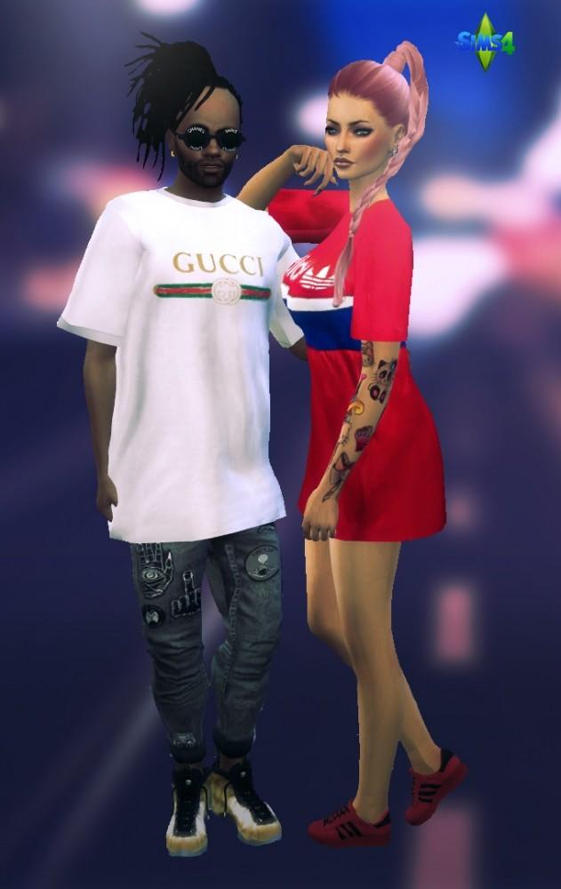 Streetwear T Shirts At Rimshard Shop 187 Sims 4 Updates