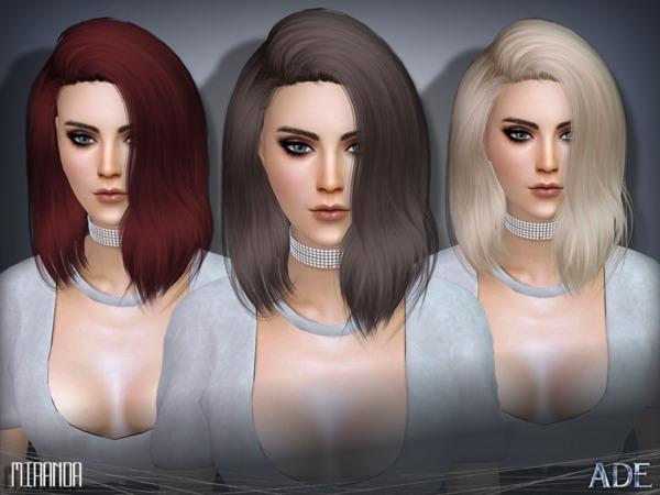Miranda hair by Ade Darma at TSR image 1107 Sims 4 Updates