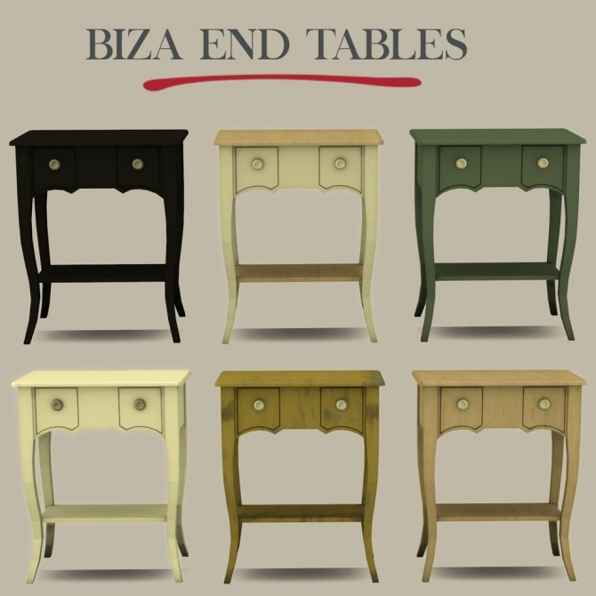 Biza End Table at Leo Sims image 11112 670x670 Sims 4 Updates