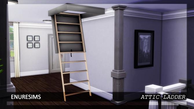 Attic Ladder At Enure Sims 187 Sims 4 Updates