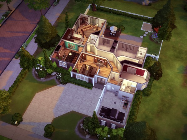 Glenhaven house by melcastro91 at TSR image 1167 Sims 4 Updates