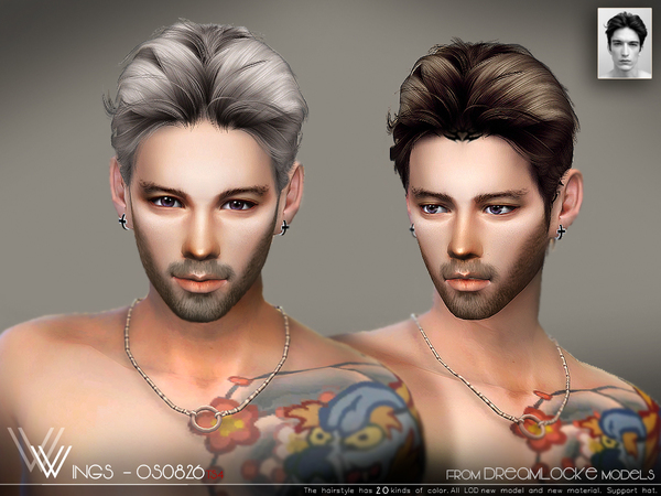 Hair OS0826 by wingssims at TSR image 1180 Sims 4 Updates