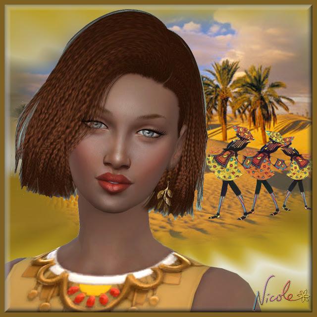 Sims 4 Sara at L'univers de Nicole