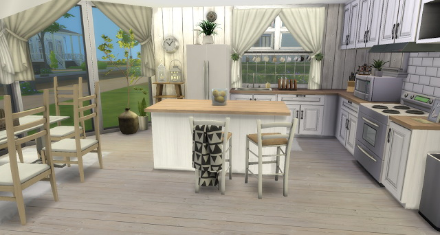 Pumpkin kitchen by Rissy Rawr at Pandasht Productions image 1213 Sims 4 Updates