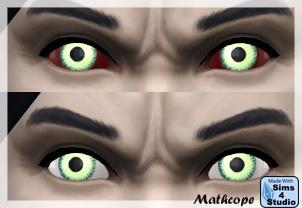 Vampire eyes by Mathope at Sims 4 Studio image 1226 Sims 4 Updates