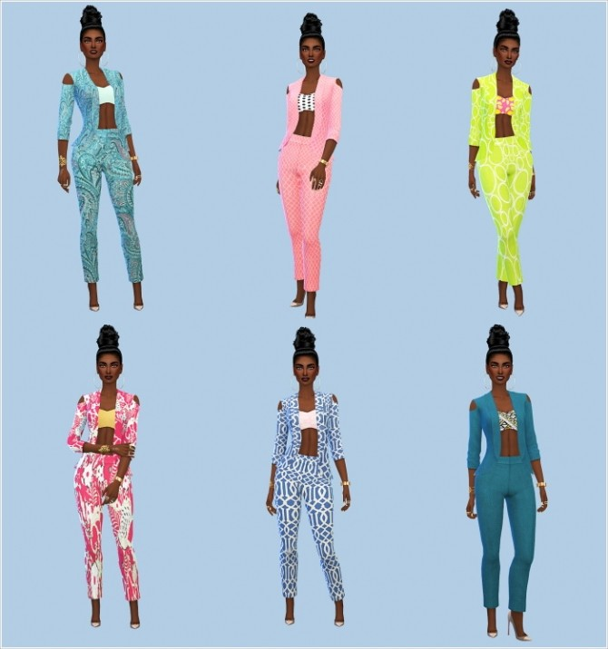 Dynasty Collection VII at The Beautiful Sims of Color image 12310 670x716 Sims 4 Updates