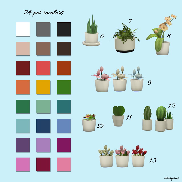 Plants at Evey Sims image 12311 Sims 4 Updates