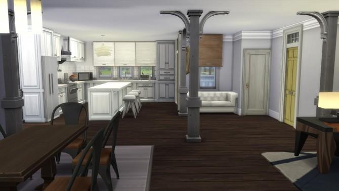 Sims 4 THE WALKING DEAD ALEXANDRIA RICKS HOUSE at Elfdor Sims