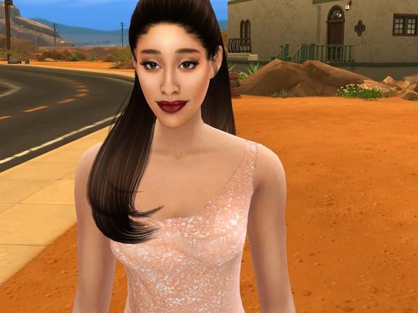 Sims 4 Ariana Grande by Like A Circus at TSR