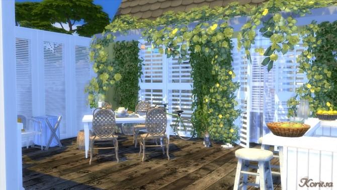 Sims 4 THE BEACH BUNGALOW at Angelina Koritsa